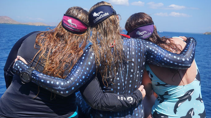 Girls that Scuba trips are not only incredible dive experiences but a way to make lifelong friends!