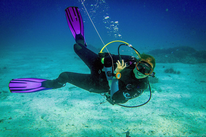 Scuba diving in the Royal Navy
