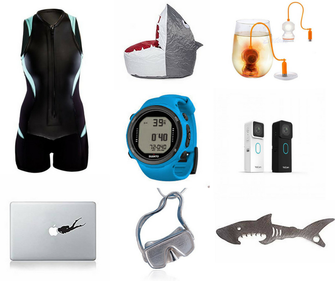 scuba diving gifts