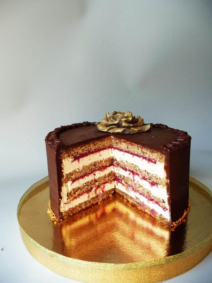 Как торт покрывать шоколадом