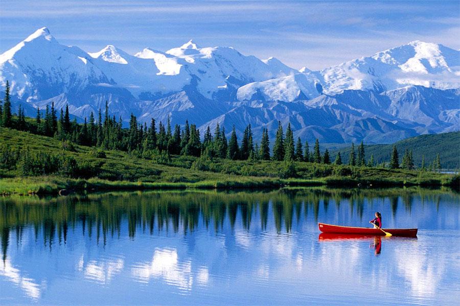 Обои для рабочего стола Аляска