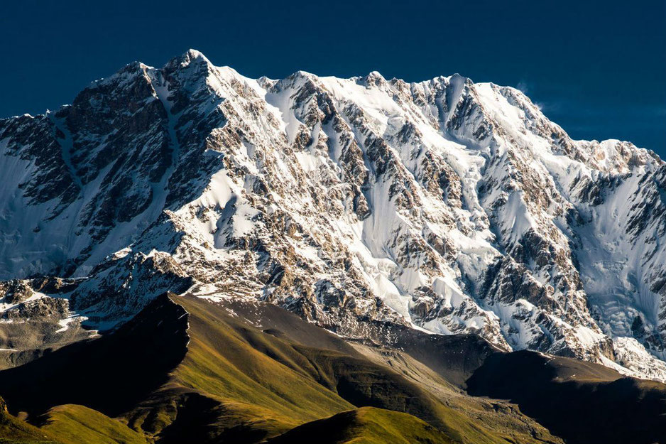 Самая высокая гора грузии