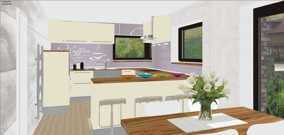 bild 3 haus b m nster gelmer visualisierung offene k ch bockhaus odenthal architekten m nster. Black Bedroom Furniture Sets. Home Design Ideas