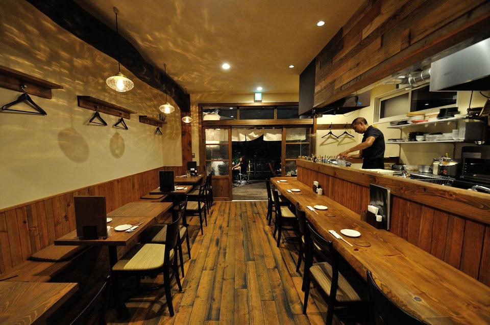 なら山翠舎(さんすいしゃ) 古木(古材)を使った店舗デザイン、設計施工は山翠舎 お気に入り 山翠