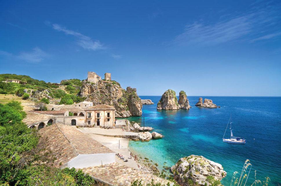 Top beaches Europe- Scopello Beach