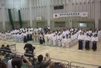第16回横浜武道合同演武会開会式