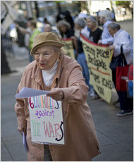 'grannies against the wars'