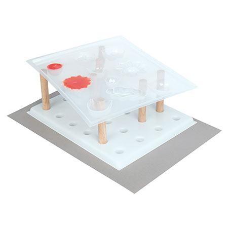 halterung f r hitzegeformte gie formen. Black Bedroom Furniture Sets. Home Design Ideas