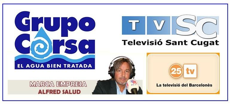 Grupo Corsa tiene presencia en los medios 25TV, Televisió Sant Cugat y Radio Marca