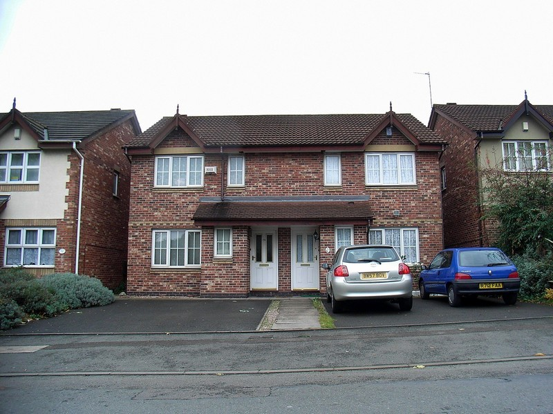 New housing in Bordesley Village on Witton Street
