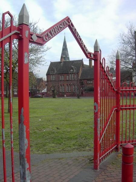Garrison Lane School, now an industrial unit