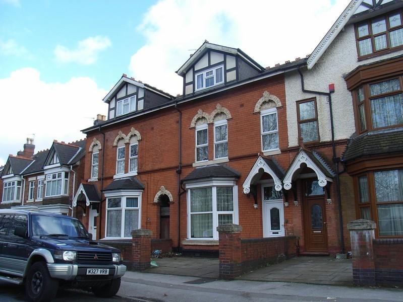 Houses on Tennyson Road