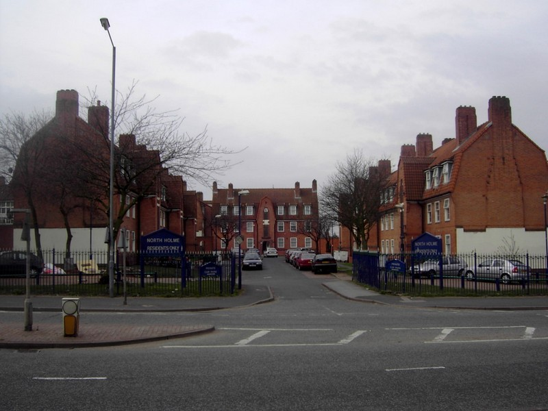 North Holme flats on Catell Road