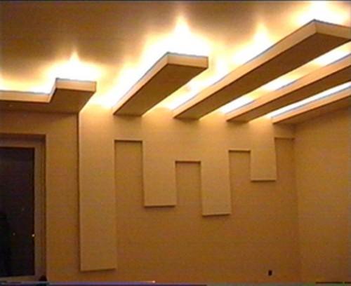 Освещение потолка своими руками