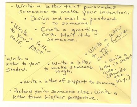 Creative Ways Of Writing Letters Janus Essays