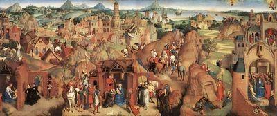 Hans Memling, Avvento e trionfo di Cristo, 1480