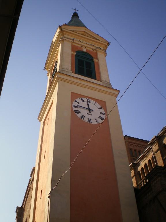 Il Campanile restaurato nel 2004