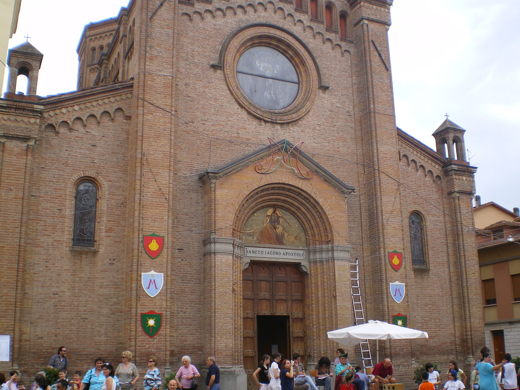 Chiesa Parrocchiale di Piumazzo dedicata a San Giacomo Apostolo