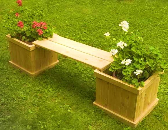Садовый ящик для цветов своими руками