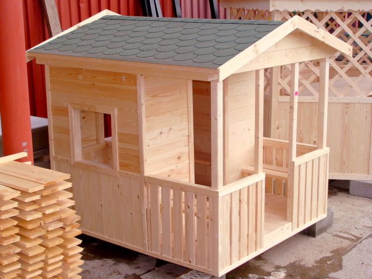 Домики для детей из дерева своими руками  583