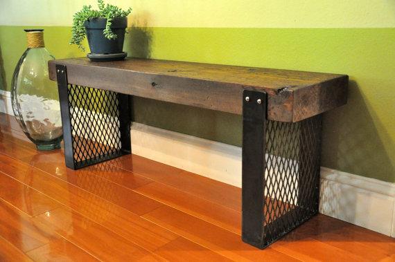 Мебель из дерева и металла