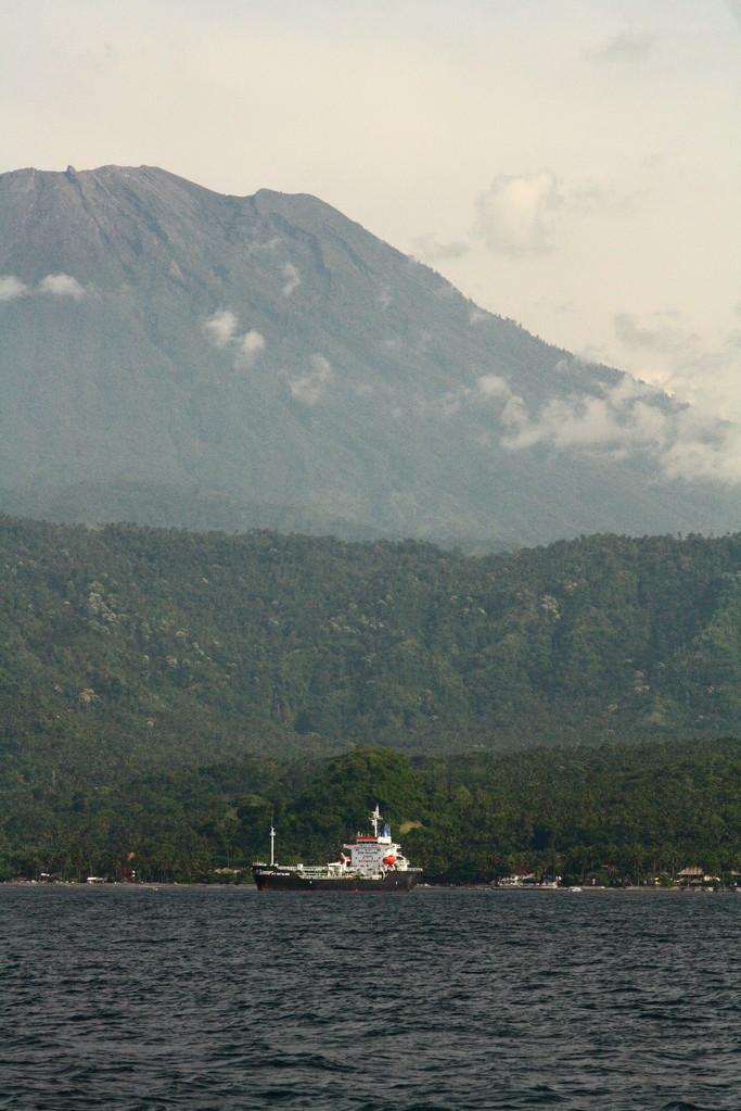 Der hoechste Vulkan in Bali mit ueber 3000 m