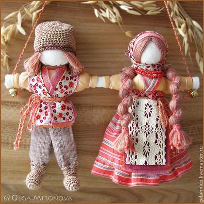 Сделать куклу-неразлучник своими руками