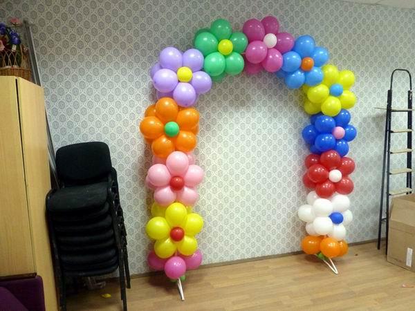 Арка из шариков пошаговая инструкция с фото