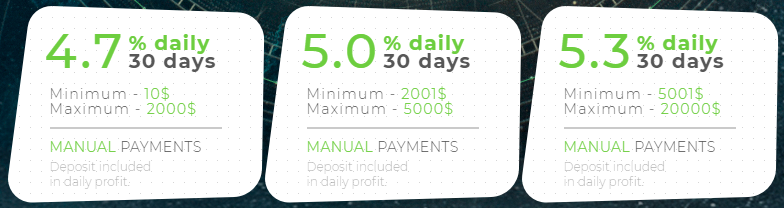 Investment that pays daily profit team