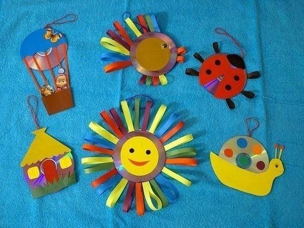 Сделать поделки своими руками в детский сад 100