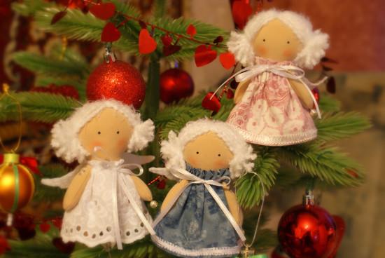 Как своими руками сделать рождественскую игрушку