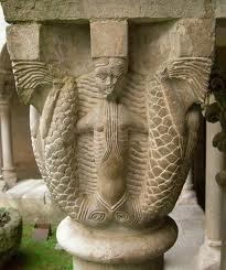 Sirenas simbolizando el pecado