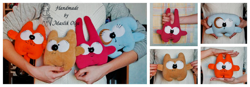 Забавные игрушки своими руками 12