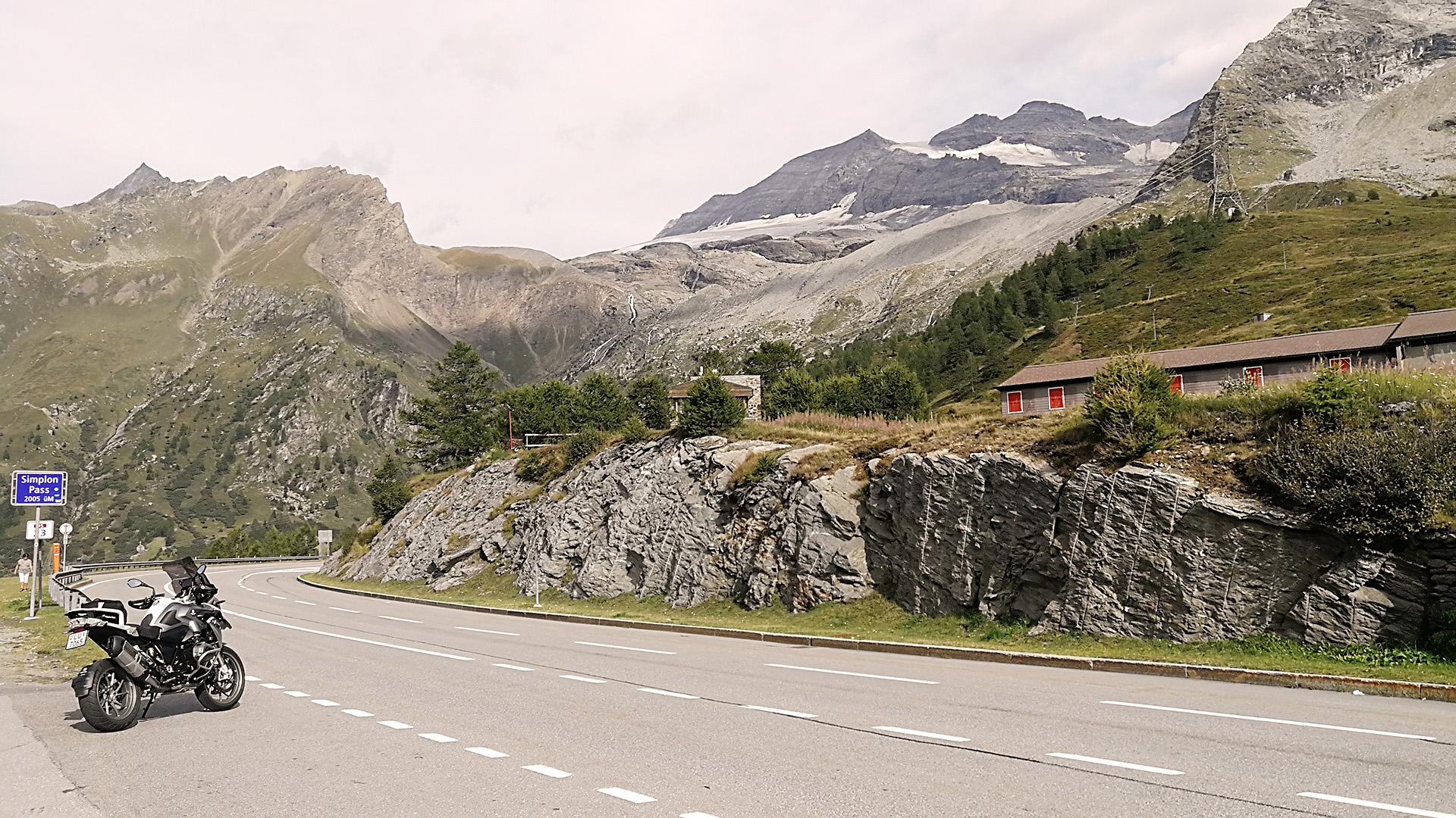 Simplon Pass Pass Mit Dem Motorrad Und Auto Passe Info