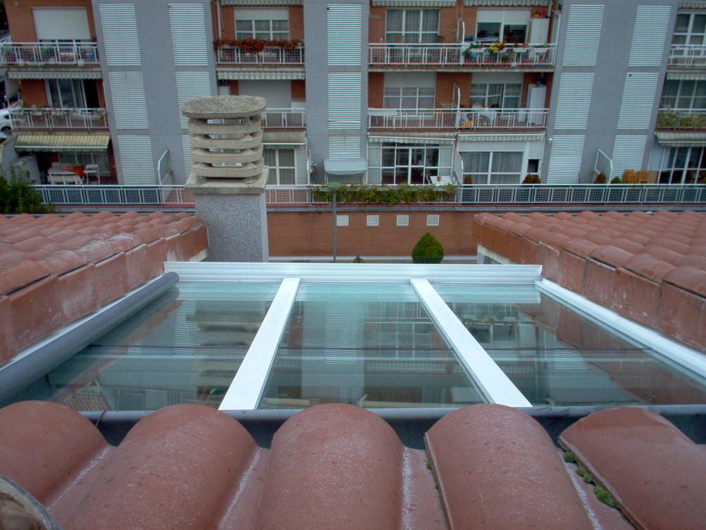 Techo vidrio Barañain