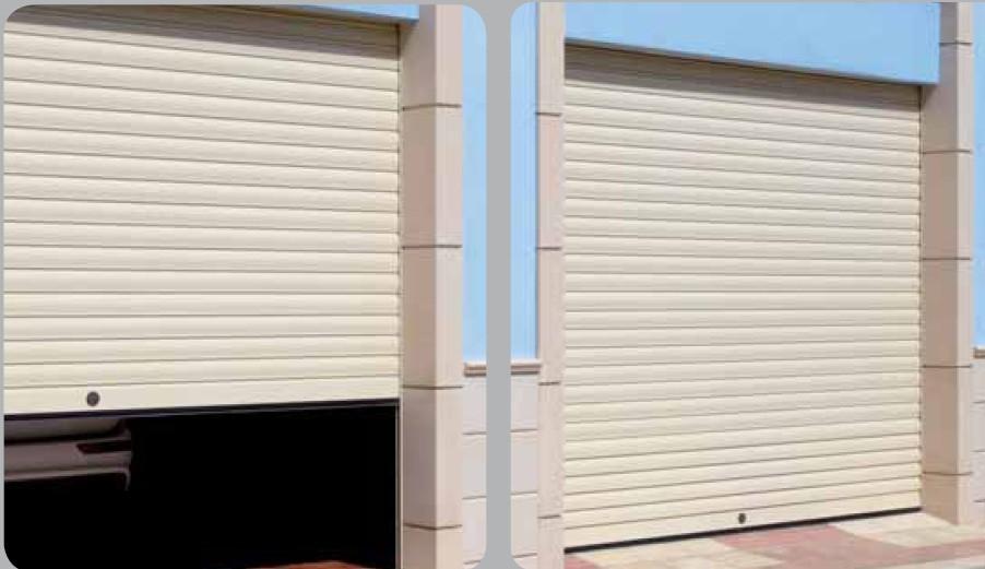 Puertas garaje aluminio