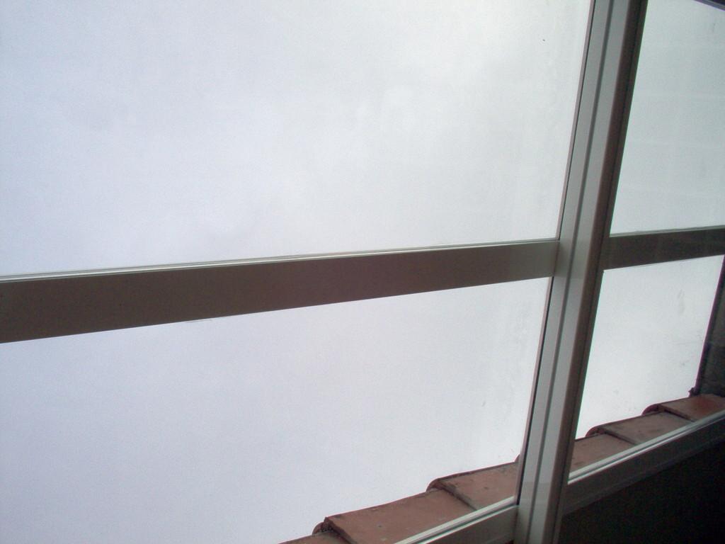 Cerramiento de vidrio en Donosti