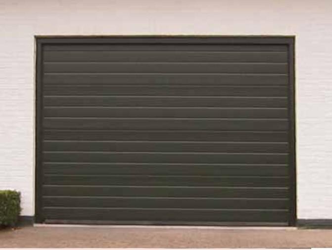 Puertas garajes seccionales
