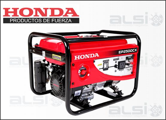 Arm honda generador el ctrico port til mod ep2500cx1 for Generador electrico honda precio