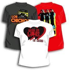 Camisetas Chichos