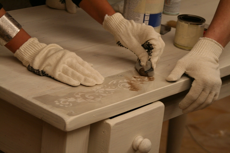 Реставрация мебели мастер своими руками