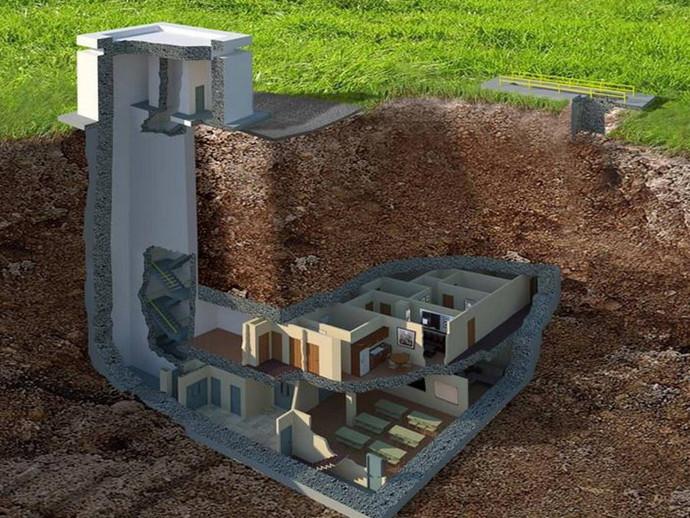 Подземный бункер, частный, защитный - Проектное бюро