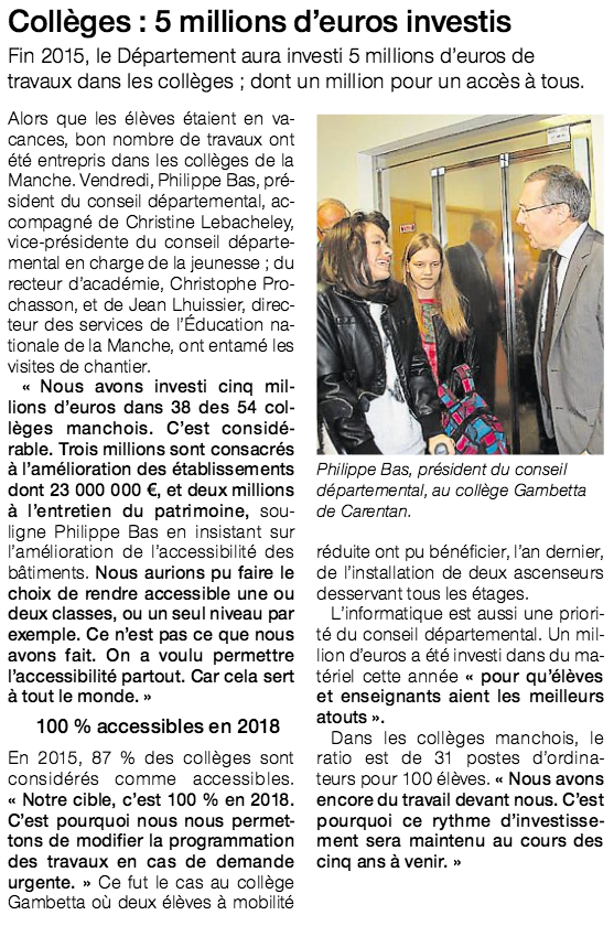 OUest-France, 05/09/15