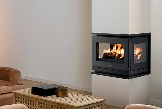 vitre chemine insert hemmet noir insert lectrique optimyst sans vitre pour chemine ou encastrer. Black Bedroom Furniture Sets. Home Design Ideas