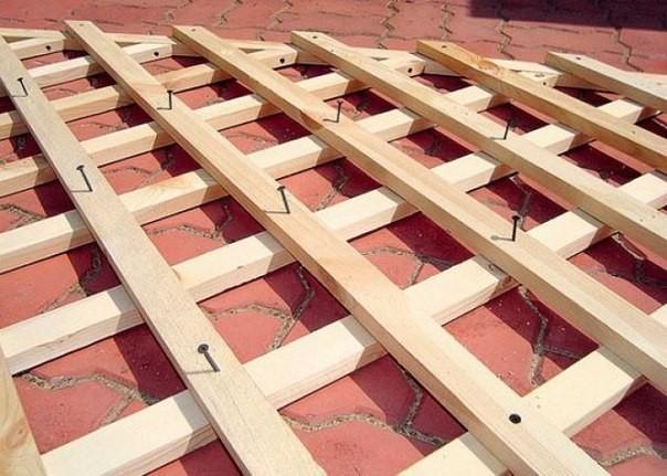 Изготовление деревянной обрешетки своими руками