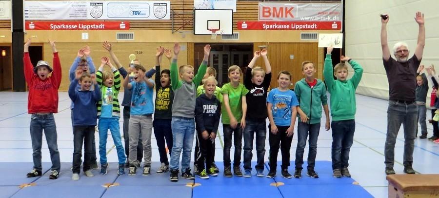 Herzlichen Glückwunsch an unsere Schul-Fußballmannschaft zu einer tollen Wettkampfsaison