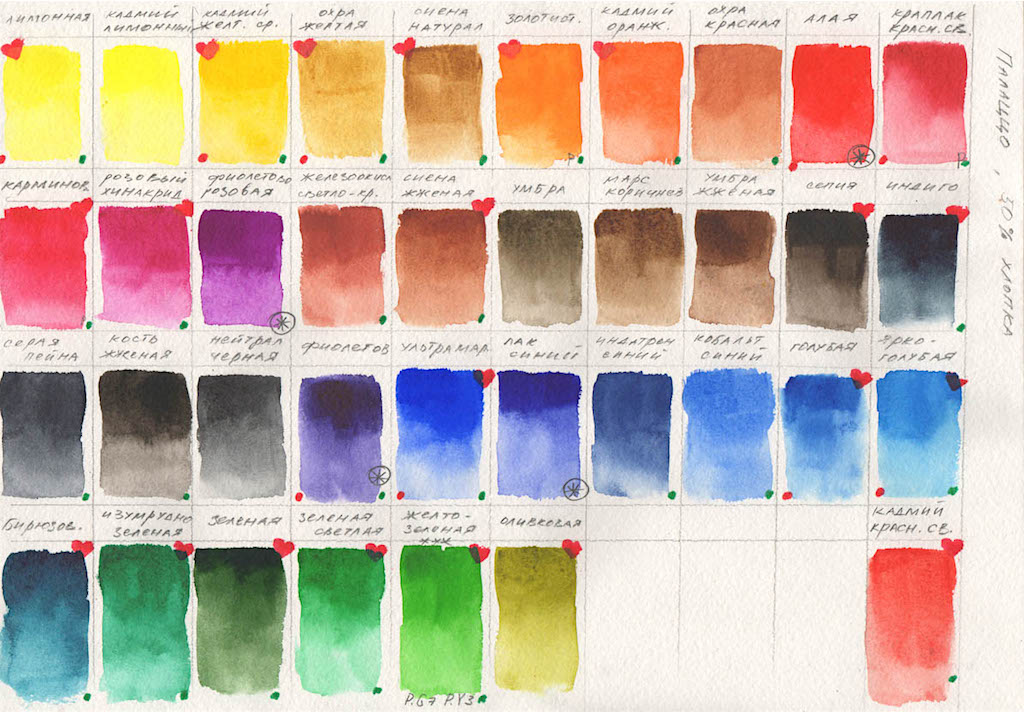 Как сделать в палитре краски