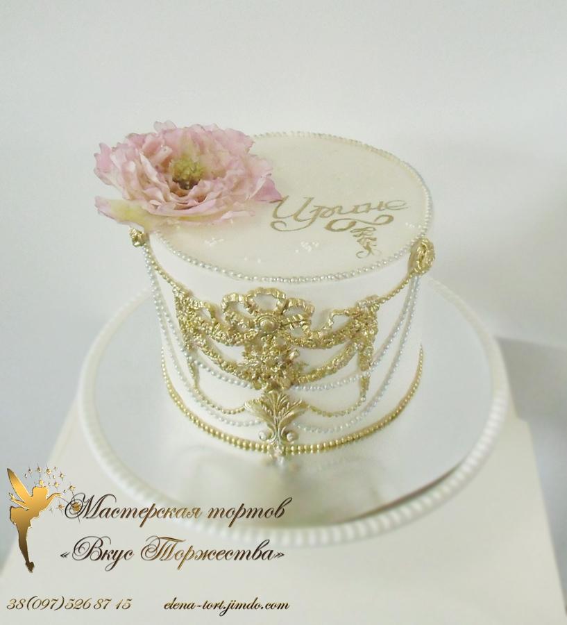 Торты украшенные кремом для свадьбы