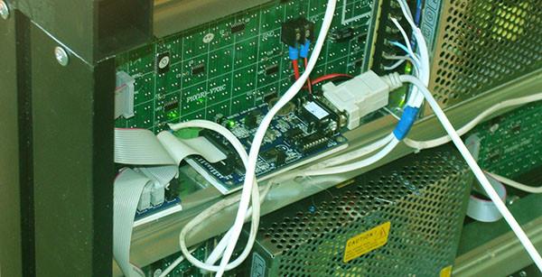 Управление светодиодным led экраном: программа и интерфейс - NeonDoska.ru