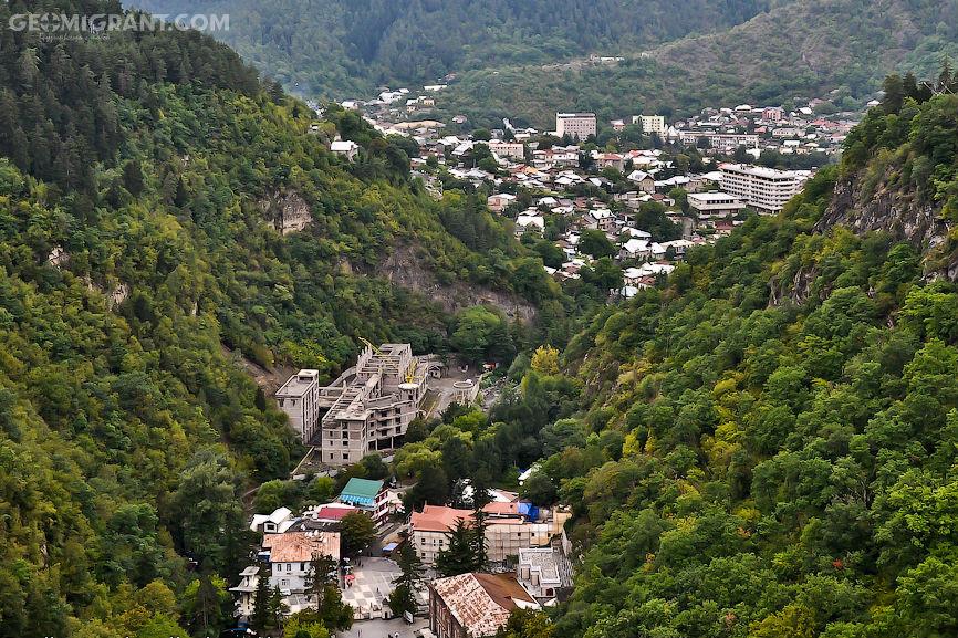 Город боржоми - курортная жемчужина грузии